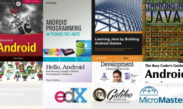 Top 10 Books to Learn Android Programming in 2017